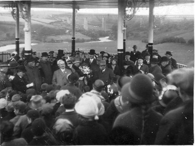 Bandstand opening