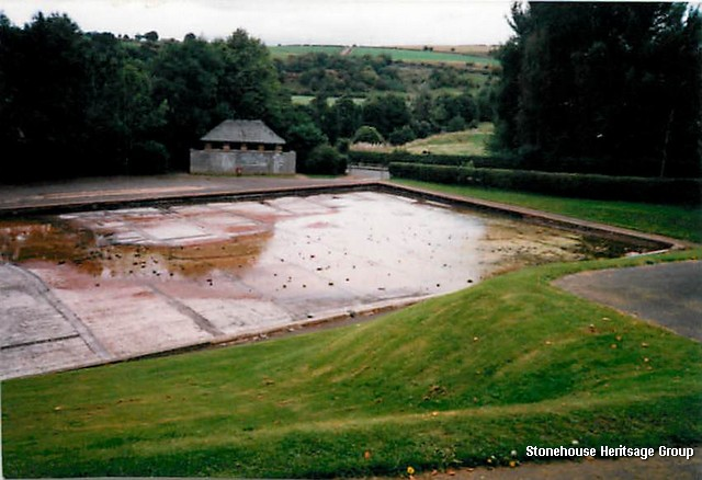 boating pond drained