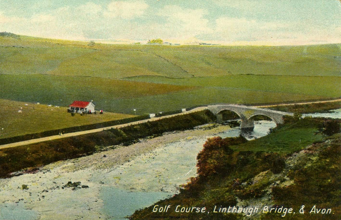 Golf-Course-c1912-Stonehouse-card-187