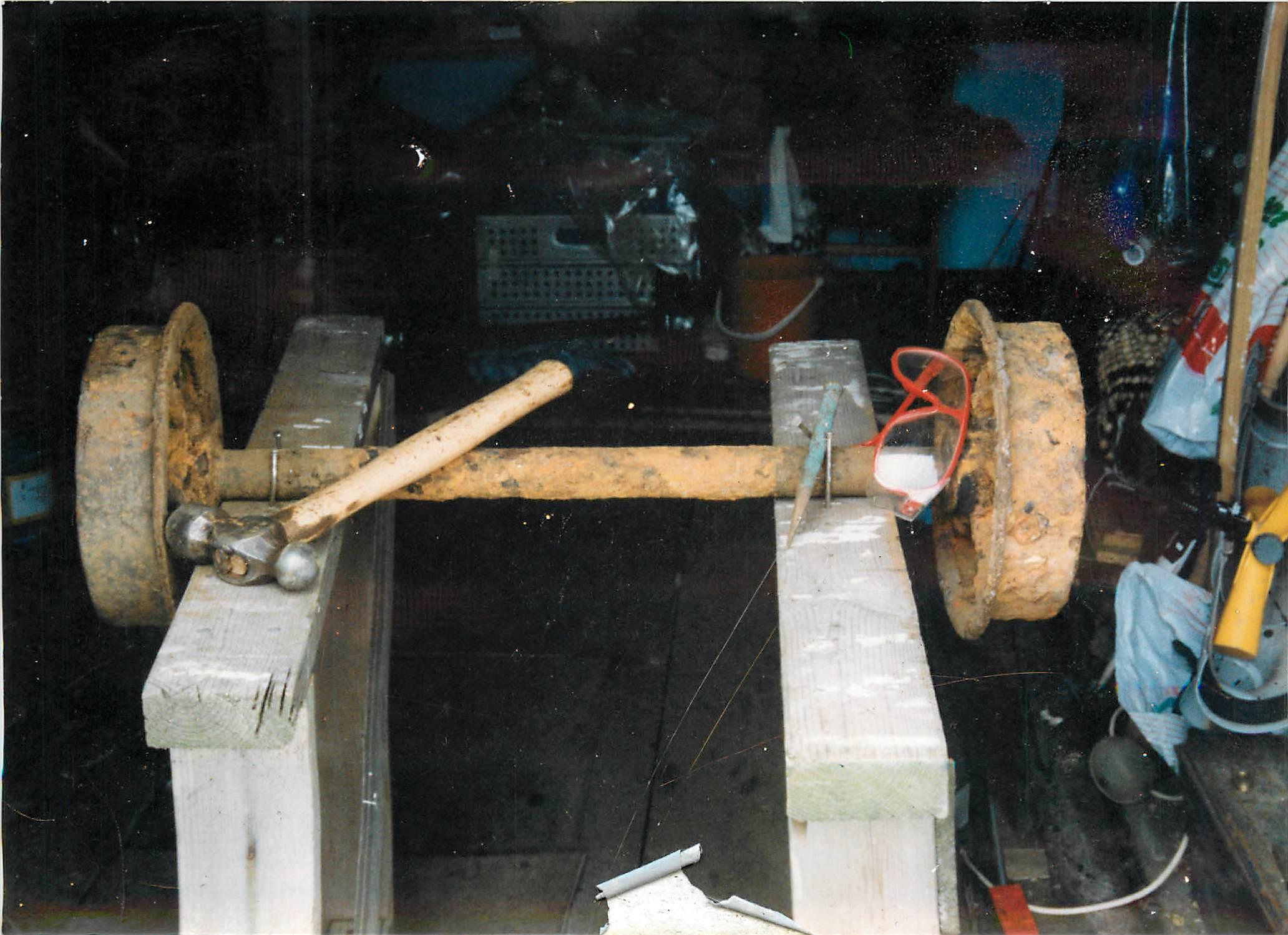 bogie axle