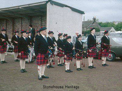 pipe band 2 (East Kilbride 1976)