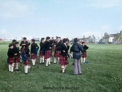 pipe band 3 (East Kilbride 1976)
