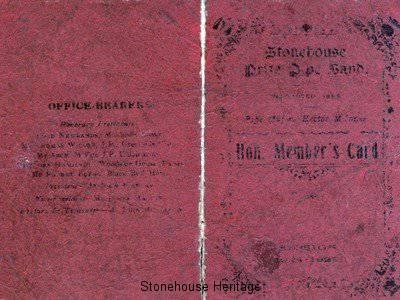 pipeband membership card(a)
