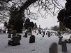 Graveyard in Snow 2