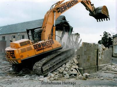 Demolition of Old Buildings