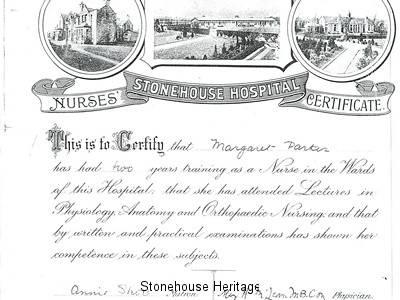 Nurses Certificate Margaret parker